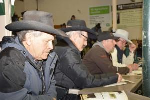 bidders Bob Russell-Mark Grafton-Wayne Pincott-Al Smith